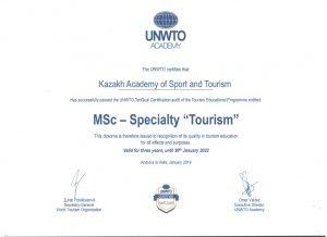 Магистратура Специальность Туризм